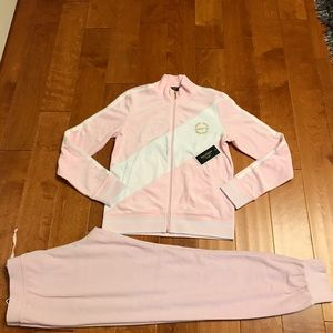 Juicy Couture velour hoodie and zuma pant
